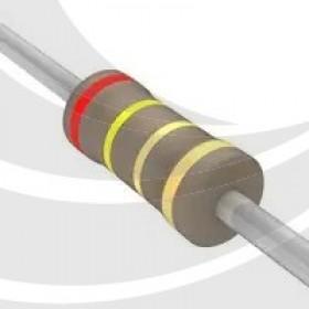 碳膜電阻 1/2W 2.4Ω  ±5%