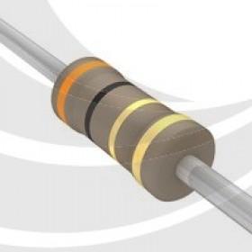 碳膜電阻 1/2W 3.0Ω  ±5%