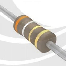 碳膜電阻 1/2W 3.9Ω  ±5%