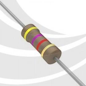 碳膜電阻 1/2W 4.7K  ±5%