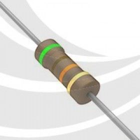 碳膜電阻 1/2W 51K  ±5%