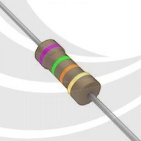 碳膜電阻 1/2W 75K  ±5%