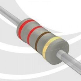 碳膜電阻 1W 220Ω  ±5%