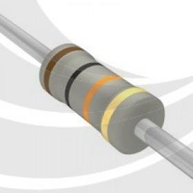 碳膜電阻 1W 10K  ±5%