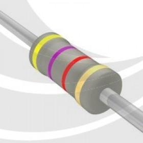 碳膜電阻 1W 4.7K  ±5%