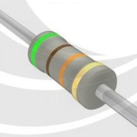 碳膜電阻 1W 51K  ±5%