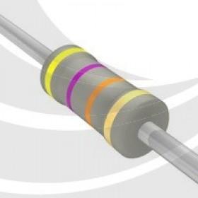 碳膜電阻 1W 47K ±5%