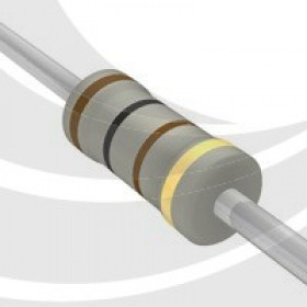 碳膜電阻 1W 100Ω  ±5%