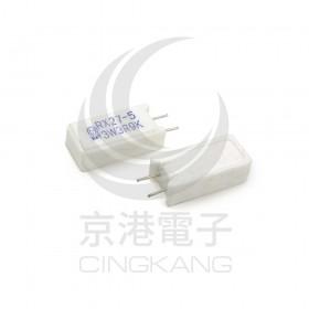 陶瓷水泥電阻 立式 3W 3.9Ω (5入)