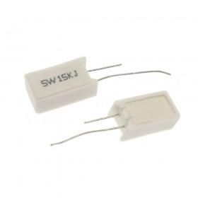 陶瓷水泥電阻 立式 5W 15K (5PCS/入)