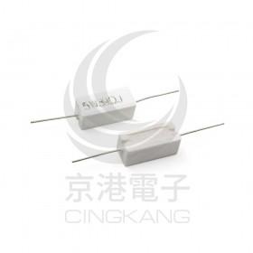 陶瓷水泥電阻 臥式 5W 39Ω (5PCS/包)