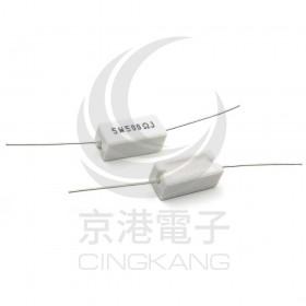 陶瓷水泥電阻 臥式 5W 500Ω (5PCS/入)