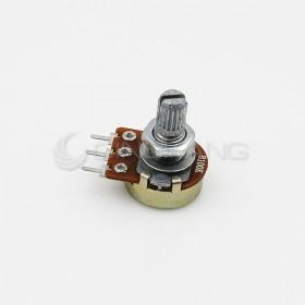 單聯電位器 B100K 柄長 15MM(三腳)