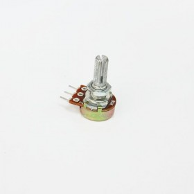 單聯電位器 B5K 柄長20MM(三腳)