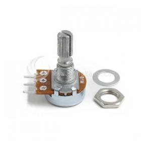 單聯電位器 16ψ 1M 柄長20mm