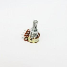 雙聯電位器 B50K 柄長15MM(六腳)
