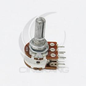 雙聯電位器 B30K 柄長20MM(六腳)