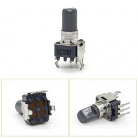 日本ALPS 13mm 單聯3腳電位器 B10K