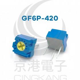 GF6P-420 200KΩ 日規1T單轉上調SVR (5PCS/包)