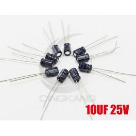 一般電容 10UF 25V 4*7 (10顆入)