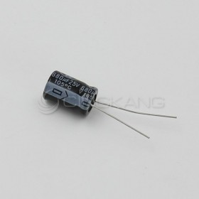 一般E/C電容 680UF 25V 10*15 105度 (10顆入)