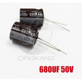 一般電容680UF 50V 16*20 (2顆入)