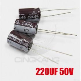 一般電容220UF 50V 10*16 (3顆入)