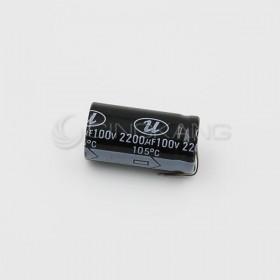 一般電容 2200UF 100V 22*40 (1顆入)