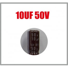 黑金剛電容 10UF 50V KY 5*11 (10顆入)