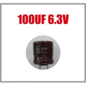 黑金剛電容 100UF 6.3V 6*7 (10顆入)