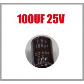 黑金剛電容 100UF 25V 6*11 (10顆入)