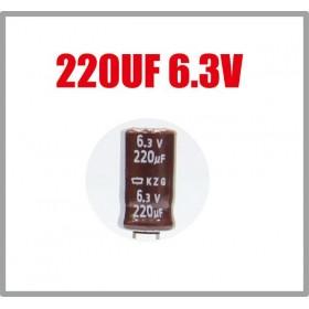 黑金剛電容 220UF 6.3V KZG 6*11(10顆入)