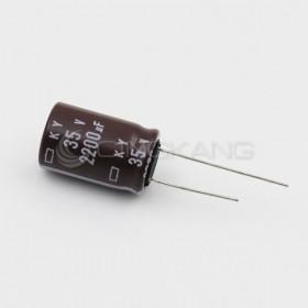 黑金剛電容 2200UF 35V KY 16*25 (1顆入)
