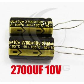 黑金剛電容 2700UF 10V LXY 12*30 (2顆入)