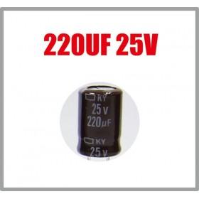 黑金剛電容 220UF 25V KZE 8*11 (10顆入)