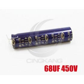 液晶電容 68UF 450V 12*50 (1顆入)