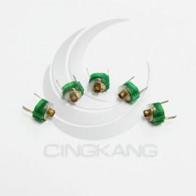 可調電容 18PF  2腳 綠色 (5入)