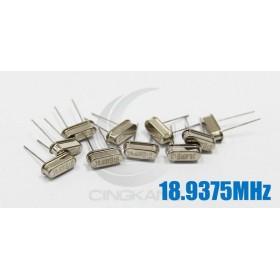 49S型無源晶振 18.9375MHz(10入)
