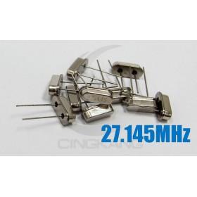 49S型無源晶振 27.145MHz(10入)