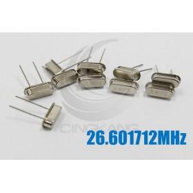49S型無源晶振 26.601712MHz(10入)