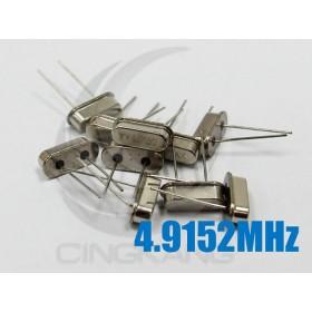 49S型無源晶振 4.9152MHz(10入)