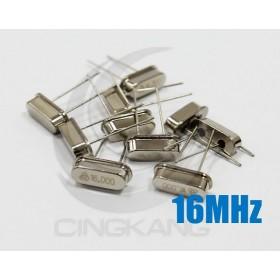 49S型無源晶振 16MHz(10入)