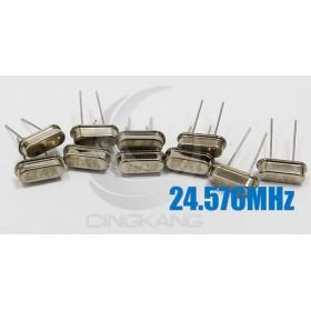 49S型無源晶振 24.576MHz(10入)