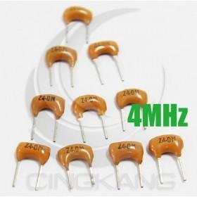 陶瓷晶振 4MHz(10入)