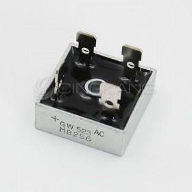 橋式整流器(方橋扁腳) MB256 25A/600V