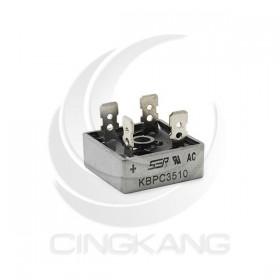 橋式整流器(方橋扁腳) KBPC3510 35A/1000V