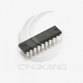 SN74HC573AN(DIP-20) 三態輸出的八路透明 D 類鎖存器