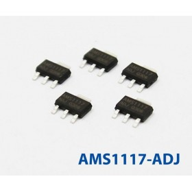 AMS1117-ADJ(SOT-223) 穩壓IC(5入)