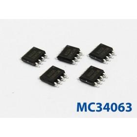 MC34063 (SOP-8) DC-DC 電源IC 輸出電流1.5A (5入)