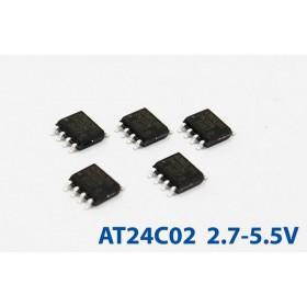 AT24C02BN-SH-T (SOP-8) 2.7-5.5V (5入)